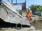 Tin trong nước - Bà đi giúp việc cho hàng xóm, 3 cháu nhỏ thoát chết trong căn nhà cháy rụi