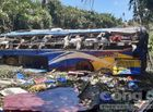 Tin trong nước - Vụ xe khách lao xuống vực 5 người chết: Phụ xe dương tính với ma túy