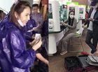 Tin tức giải trí - Công Vinh hộ tống vợ đi rút thêm vali tiền, Thủy Tiên trấn an bà con bằng câu nói ấm lòng