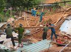 Tin trong nước - Rớt nước mắt hình ảnh hiện trường vụ sạt lở kinh hoàng ở Quảng Nam