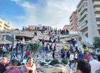 Tin thế giới - Xót xa khung cảnh hoang tàn ở tỉnh Izmir sau trận động đất rung chuyển Thổ Nhĩ Kỳ