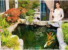 Tin tức giải trí - Cận cảnh khu vườn tràn ngập sắc hoa bao quanh căn biệt thự lộng lẫy của Lã Thanh Huyền