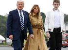 """Tin thế giới - """"Cậu út"""" Barron ở đâu khi cả gia đình ông Trump rời khỏi Nhà Trắng?"""