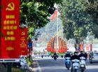Tin trong nước - Thủ đô Hà Nội được trang hoàng rực rỡ mừng Đại hội lần thứ XIII của Đảng