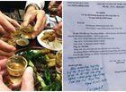 Tin trong nước - Vụ văn phòng huyện ở Nghệ An xin hơn 80 triệu tiền rượu: Chủ tịch huyện lên tiếng