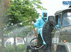 Tin trong nước - Cận cảnh xe đặc chủng phun khử khuẩn bệnh viện K Tân Triều