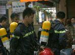 Chùm ảnh: Cháy khu ăn chơi Zone 9 ở Hà Nội - Ảnh thứ 3