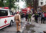 Chùm ảnh: Cháy khu ăn chơi Zone 9 ở Hà Nội - Ảnh thứ 10