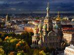 Nhìn xuống thành phố St. Petersburg tráng lệ từ trên cao - Ảnh thứ 1