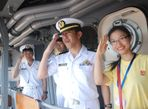 Khám phá tàu đổ bộ Nhật Bản vừa cập cảng Tiên Sa - Ảnh thứ 2