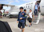 Cận cảnh chuyên cơ chở U19 Việt Nam - Ảnh thứ 15