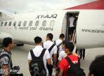 Cận cảnh chuyên cơ chở U19 Việt Nam - Ảnh thứ 5