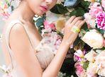 Thúy Vân yêu kiều, e ấp hóa tiên nữ giữa rừng hoa - Ảnh thứ 10