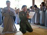 Chùm ảnh: Dâng hương tưởng nhớ 49 ngày Đại tướng qua đời - Ảnh số 2
