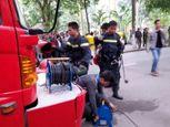 Chùm ảnh: Cháy khu ăn chơi Zone 9 ở Hà Nội - Ảnh số 11
