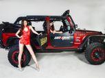 """Kiều nữ khoe thân bên """"người rừng"""" Jeep Wrangler Rubicon - Ảnh số 13"""
