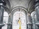 Á hậu Thụy Vân xinh đẹp, quyển rũ trong lâu đài cổ - Ảnh số 4