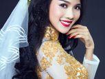 Bạn gái Ưng Hoàng Phúc xinh đẹp làm cô dâu - Ảnh số 1