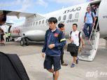 Cận cảnh chuyên cơ chở U19 Việt Nam - Ảnh số 15