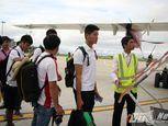 Cận cảnh chuyên cơ chở U19 Việt Nam - Ảnh số 6