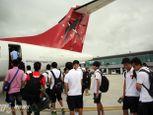 Cận cảnh chuyên cơ chở U19 Việt Nam - Ảnh số 1