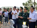 Trung tướng Võ Trọng Việt, Tư lệnh BĐBP thăm và kiểm tra công tác bảo vệ tại khu an táng Đại tướng Võ Nguyên Giáp