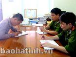 Đối tượng gây rối trật tự tại xã Bắc Sơn ra đầu thú