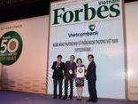 Vietcombank được vinh danh công ty niêm yết tốt nhất Việt Nam