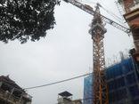 Sập giàn giáo công trình Eco Green Tower: Đình chỉ thi công để điều tra