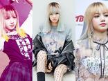Chóng mặt với 9 lần thay đổi màu tóc trong một năm của Lisa (Black Pink)