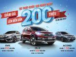 Honda Việt Nam công bố giá mới hấp dẫn cho Honda CR-V, Honda Civic và Honda Accord!