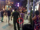 Cảnh sát nổ súng khống chế nam thanh niên