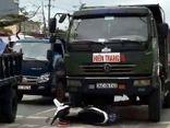 Công an Hải Phòng lên tiếng vụ tài xế xe tải đâm nát xe CSGT