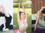 Loạt người đẹp Việt khoe đường cong nóng bỏng khi tập yoga