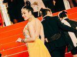 Sau Ngọc Trinh, Hoa hậu Tuyết Nga xuất hiện trên thảm đỏ Cannes