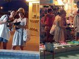 Song Hye Kyo diện váy ngắn, khoe vai trần dạo chơi trên đường phố Pháp