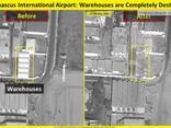 Israel tung ảnh vệ tinh hé lộ Syria bất lực trước đòn tấn công nhắm vào sân bay Quốc tế Damascus