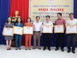 Hội Luật Gia - Hội Luật gia Tây Ninh: Tiếp tục phát triển tổ chức, củng cố hoạt động Hội