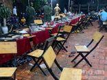 Tuần tra đêm khuya, công an chặn kịp thời một vụ hỗn chiến trong nhà hàng ở Bình Dương