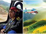 Đạt thành tích học tập xuất sắc, nữ sinh H'Mông được đi trực thăng ngắm mùa vàng tại Mù Cang Chải