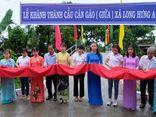 Khánh thành công trình cầu dân sinh tại tỉnh Đồng Tháp từ kinh phí ủng hộ của Agribank Bình Dương