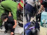 Khống chế nam thanh niên táo tợn cướp tiệm vàng giữa phố Tôn Đức Thắng
