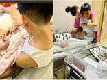 Đăng ảnh khoe bóng lưng Subeo, Hà Hồ tiết lộ khoảnh khắc anh cả ân cần với 2 em song sinh
