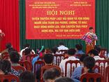 Hải quan Quảng Ninh tích cực tuyên truyền đấu tranh phòng chống ma túy