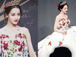 Địch Lệ Nhiệt Ba đẹp như nàng tiên hoa, làm lu mờ dàn mỹ nhân Hoa ngữ trên thảm đỏ