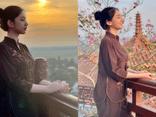 Thí sinh Hoa hậu Việt Nam sau tin đồn hẹn hò chồng cũ Lệ Quyên: Mặc giản dị lên chùa mà thần thái vẫn gây xao xuyến