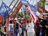 Kết thúc nhiệm kỳ, cựu Tổng thống Trump được chào đón nồng nhiệt tại Florida