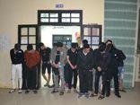 """""""Đột kích"""" nhà nghỉ ở Quảng Trị lúc nửa đêm, phát hiện 22 đối tượng dương tính ma túy"""