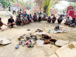 Cảnh sát cơ động đột nhập nghĩa trang, bắt quả tang gần 100