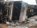 Xe tải hỏng phanh gây tai nạn giao thông nghiêm trọng, ít nhất 25 người thiệt mạng